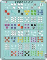 LARSEN 24 dílků - Násobení s kostkami