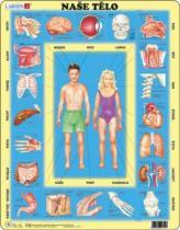 LARSEN 35 dílků - Naše tělo