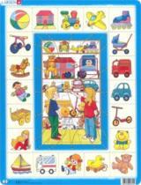 LARSEN 35 dílků - Přiřaď k sobě: Hračky