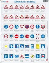 LARSEN 48 dílků - Dopravní značky