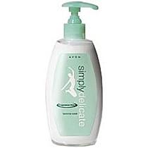 Krémový neparfémovaný gel pro intimní hygienu Simply Delicate 300 ml