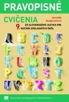 Slovenské pedagogické nakladateľstvo Pravopisné cvičenia zo slovenského jazyka pre 9.ročník základných škôl