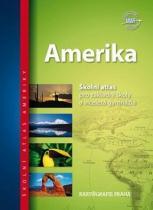 Kartografie PRAHA Amerika Školní atlas