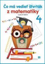 Príroda Čo má vedieť štvrták z matematiky 4