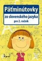 Pierot Päťminútovky zo slovenského jazyka pre 2. ročník