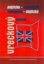 Slovenské pedagogické nakladateľstvo Anglicko - slovenský, slovensko - anglický vreckový slovník