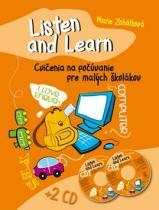 Ottovo nakladateľstvo Listen and Learn Cvičenia na počúvanie pre malých školákov + 2 CD