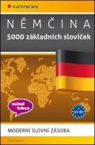 GRADA Němčina 5000 základních slovíček