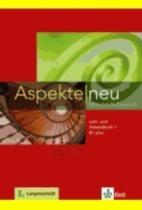 Klett Aspekte neu B1+ Lehrbuch + DVD
