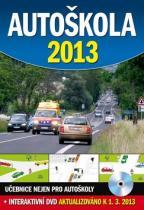 Ottovo nakladatelství Autoškola 2013 + DVD, aktualizováno k 1.3.2013