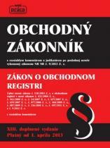 Nová práca Obchodný zákonník Zákon o obchodnom registri