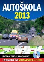Ottovo nakladatelství Autoškola 2013 + DVD, aktualizováno k 1.9.2013