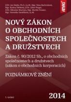 ANAG Nový zákon o obchodních společnostech a družstvech 2014
