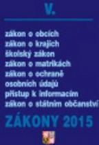 Poradce Zákony 2015 V.