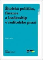 Raabe Školská politika, finance a leadership v ředitelské praxi