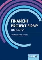 Bilance Finanční projekt firmy