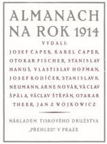AKROPOLIS Almanach na rok 1914