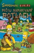 Matt Groening: Simpsonovi Prčou napakovaný potlach