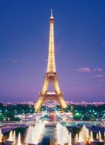 CLEMENTONI 1000 dílků - Paříž