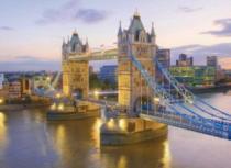 CLEMENTONI 1000 dílků - Tower Bridge