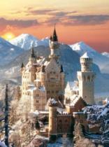 CLEMENTONI 1500 dílků - Neuschwanstein
