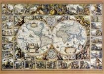 DINO 3000 dílků - Mapa