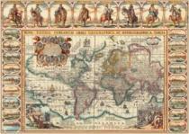 DINO 2000 dílků - Historická mapa světa