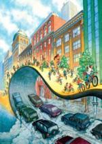 HEYE 1000 dílků - Bike Art: Cyklojízda (Vélorution)