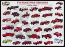 EUROGRAPHICS 1000 dílků - Vývoj hasičských vozů