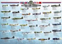 EUROGRAPHICS 1000 dílků - Stíhačky 2. světové války