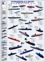 EUROGRAPHICS 1000 dílků - Ponorky