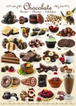 EUROGRAPHICS 1000 dílků : Čokoláda