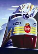 EUROGRAPHICS 1000 dílků : Vlak Diesel 4040