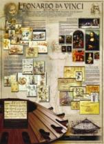 EUROGRAPHICS 1000 dílků : Leonardo Da Vinci