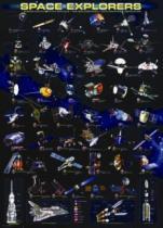 EUROGRAPHICS 1000 dílků - Vesmírní průzkumníci