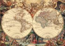 DINO 1000 dílků - Historická mapa