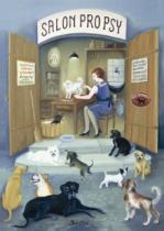 DINO 1000 dílků - Salon pro psy