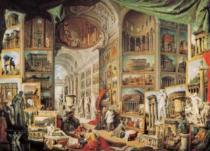 EDITIONS RICORDI 1000 dílků - Pannini, Pohled na antický Řím