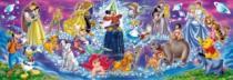 CLEMENTONI 1000 dílků - Rodina Disney
