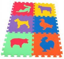 MALÝ GÉNIUS Zvířata domácí 16mm - , 6 barev