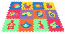 MALÝ GÉNIUS Zvířata 30x30cm, 8mm - , 6 barev