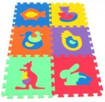 MALÝ GÉNIUS Zvířata A 30x30cm, 8mm - , 6 barev