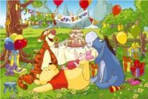 TREFL 24 dílků - Medvídek Pú: Narozeninová oslava