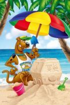 TREFL 24 dílků - Scooby Doo: Na pláži