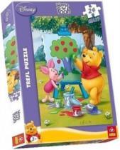 TREFL 24 dílků - Medvídek Pú: Malování obrazu