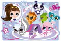 TREFL 30 dílků - Littlest Pet Shop