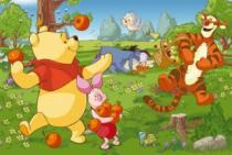 TREFL 24 dílků - Medvídek Pú: Sklizeň ovoce