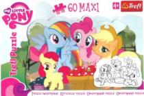 TREFL 60 dílků - My Little Pony