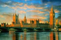 CLEMENTONI 1000 dílků - Westminsterský palác, Londýn