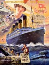 CLEMENTONI 1000 dílků - Titanik